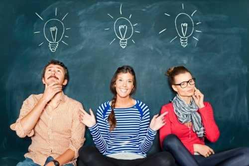 Мозговой штурм новых идей