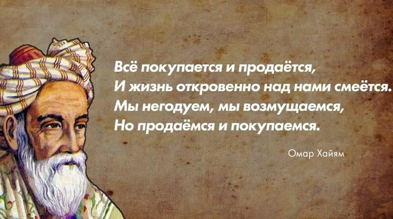Лучшие цитаты Омара Хаяма