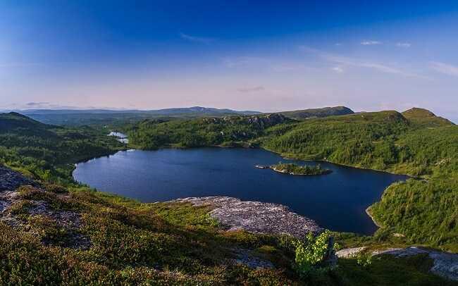 Озёра Щвеции - 10 природных чудес света, которые вы должны увидеть