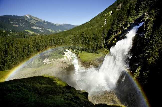 Водопад Кримль - 10 природных чудес света, которые вы должны увидеть