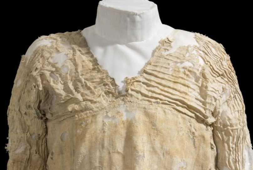 Самое старое платье найдено в Египте