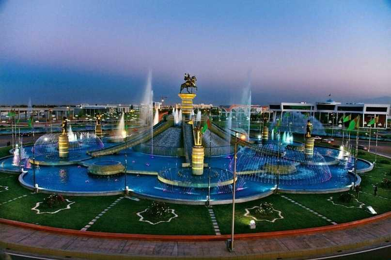 Туркменистан: 8697 туристов
