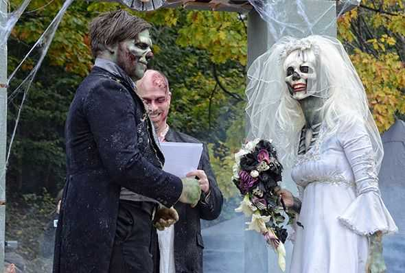 Свадьба в могиле