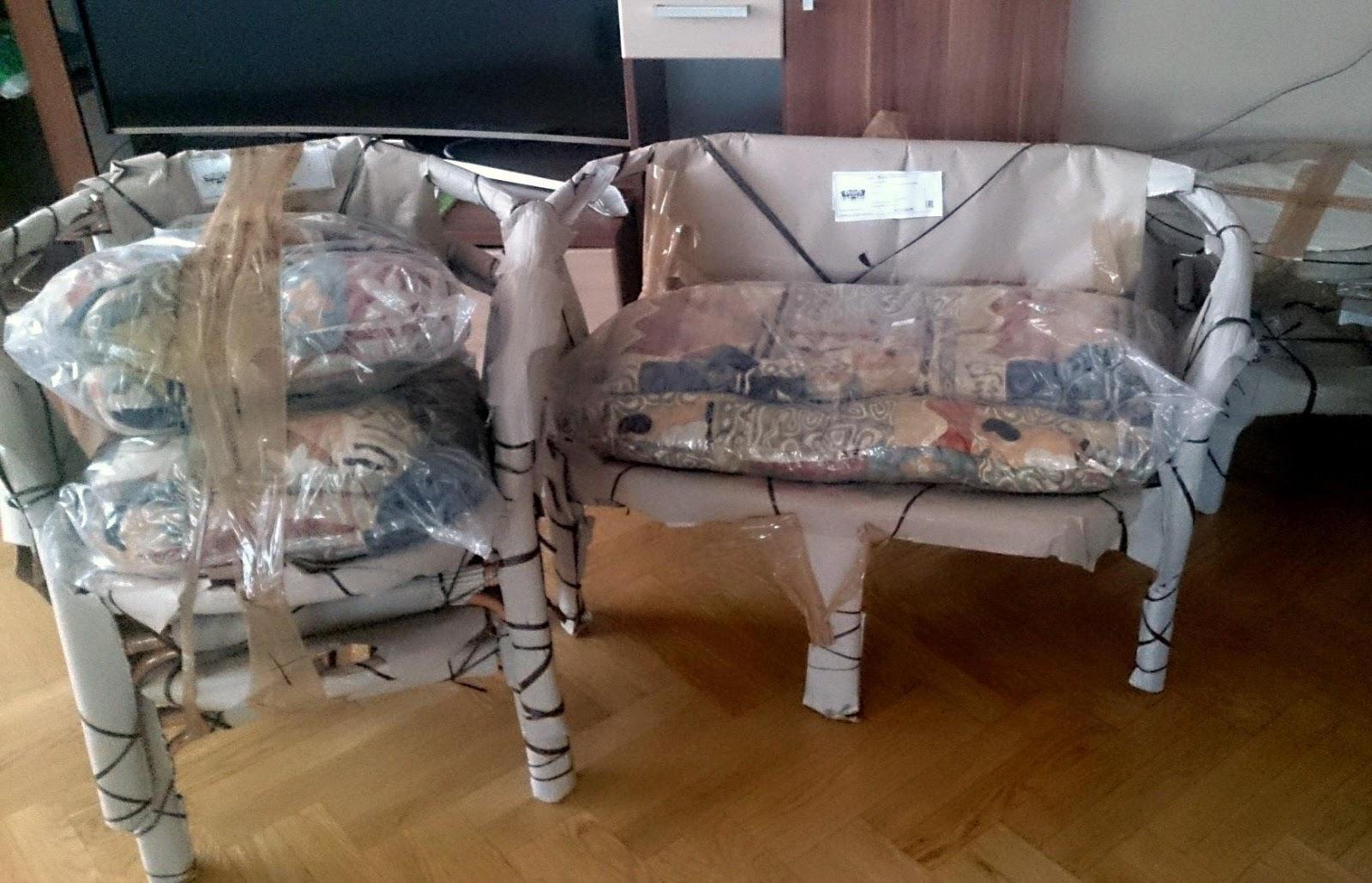 Как доставить мебель для представительства из-за рубежа